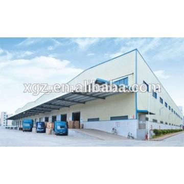 prefabricated steel structural industrial shed construction