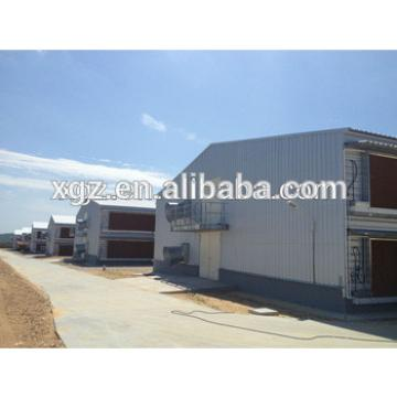 Prefabricated Poultry House with Chicken Production Equipment