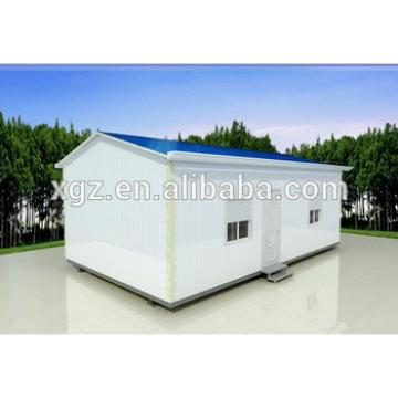 low cost steel structure house prefabricated for sale