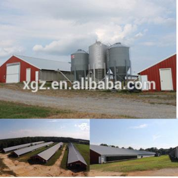 High quality Light Steel Structure Poultry House Design/chicken Poultry House