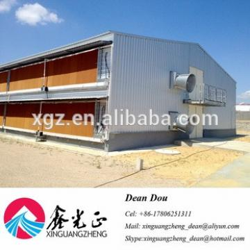 Auto Device Professional Designed Steel Structure Poultry Farm Broiler House Manufacturer China