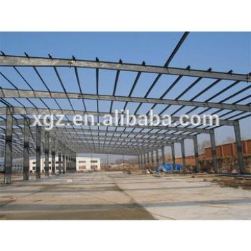 Portal Frame Steel Structure Prefabricated Workshop Building