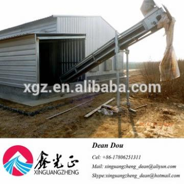 High Quality Low-price Auto Device Steel Structure Poultry Farming House Manufacturer China