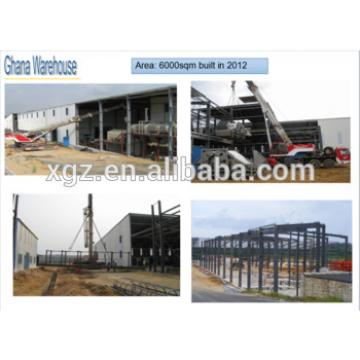 Prefab metal warehouse/ steel building warehouse