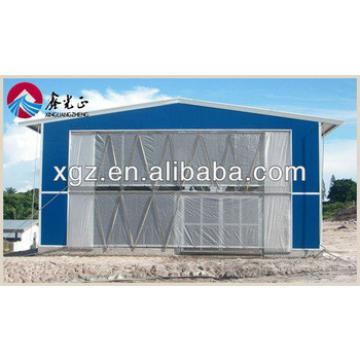 prefab sandwich panel steel structure chicken farm building for sales