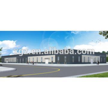 prefab steel structure frame building