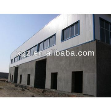 XZG lower cost sandwich panel light steel frame warehouse WORKSHOP