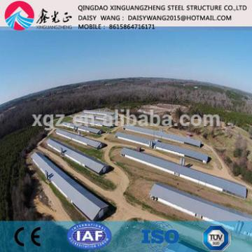 Supply steel poultry house farm design/installation/equipments service