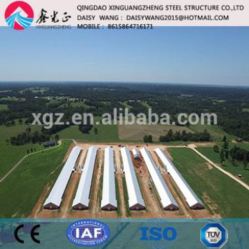 China supplier steel poultry house farm one stop service