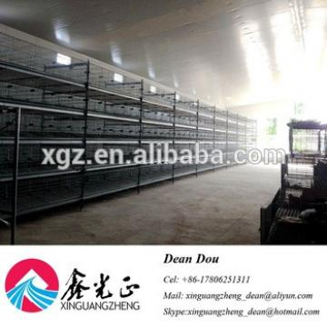 Auto-Control Machine Equipments Steel Structure Poultry Farming House Design China