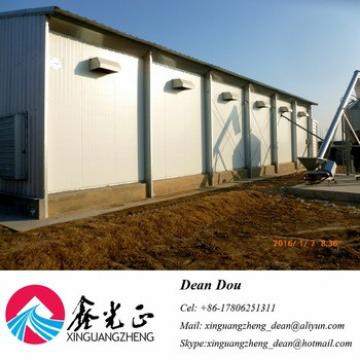 Auto-Control Machine Equipments Steel Structure Poultry Farm Chicken House China