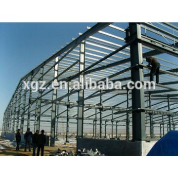 Steel structure isolation material warehouse