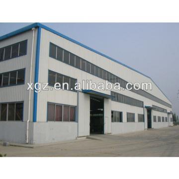large metal steel structure storage