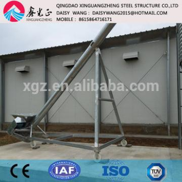 Modern steel house and galvanized layer chicken cage