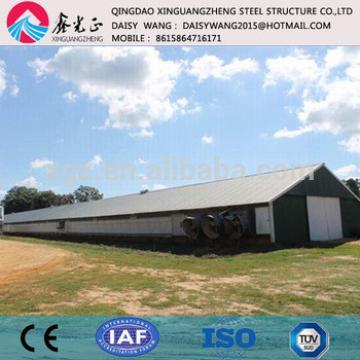 Modern prefab Q345 metal poultry house