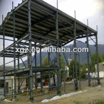 light weight metal frame prefabricated industrial storage sheds