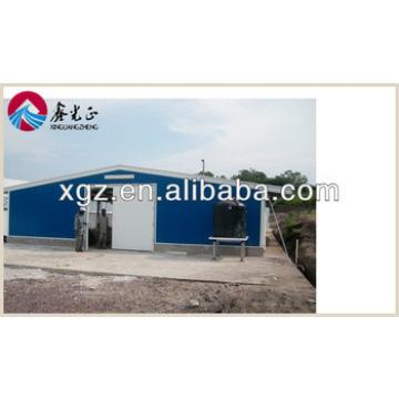 prefab steel structure industrial chicken house for sales