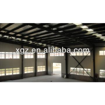 XGZ prefabricated metal sheds with sandwich panel