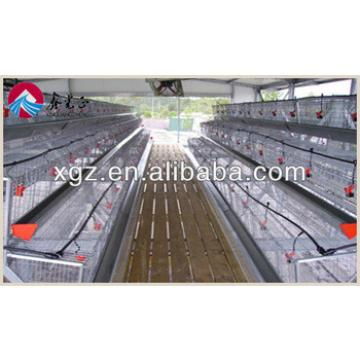 steel structure layer chicken house for sales