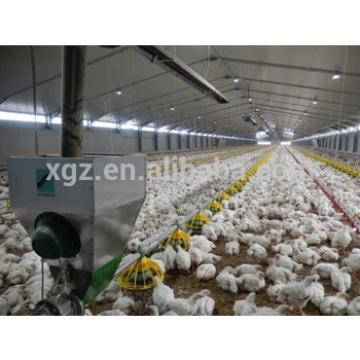 broiler chicken house with full equipment