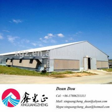 Automatic Control Equipment Chicken Egg House Galvanized Steel Structure Poultry Farm Supplier