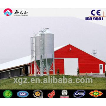 China easy assemble automatic chicken farm steel structure prefabricated poultry shed for poultry farm for sale