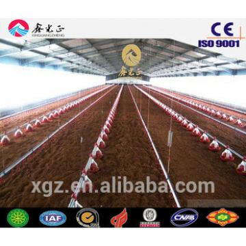 automatic chicken farm steel structure prefabricated shed for poultry farm