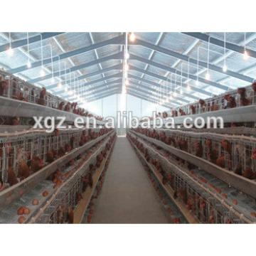 Chicken farm cage for layer and broiler chicken, chicken house for sale