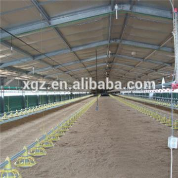 2016 hot sales cheap modern poultry farm design metal chicken coop for broiler