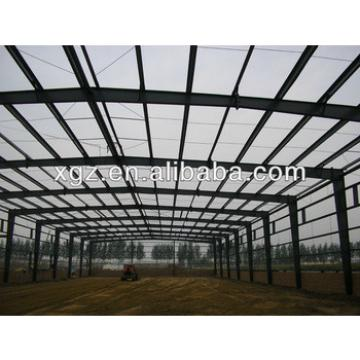 XZG sandwich panel light steel frame warehouse FOR SALES