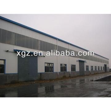 XZG lower cost sandwich panel light steel frame warehouse
