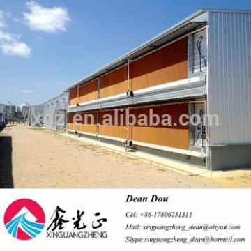 Automatic Control Equipment Chicken Egg House Steel Structure Poultry Farm Supplier