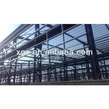 prefabricated metal structure for storage