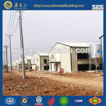 Automatic design chicken farm building, poultry house shed