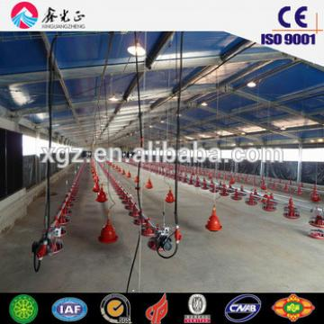 Light Construction Prefabricated Steel Structure Poultry Building For Poultry Farm
