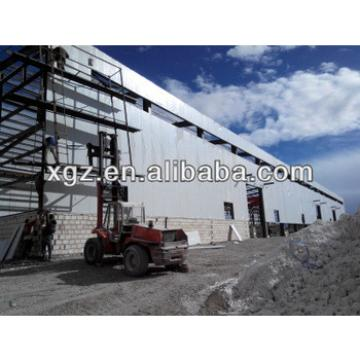 steel structure food workshop factory