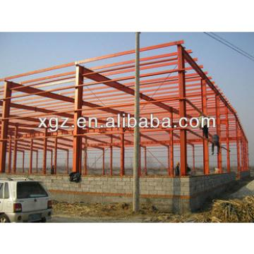 glass wool sandwich panel workshop with light weight steel frame