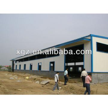 steel structural prefab garage workshop