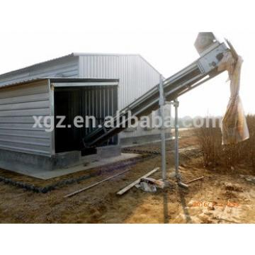 Poultry Farm Structure Design Broiler Poultry Shed Chicken Cage For Sale