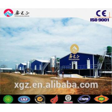 XGZ hot saling farm building,steel structure poultry house including poultry equipments