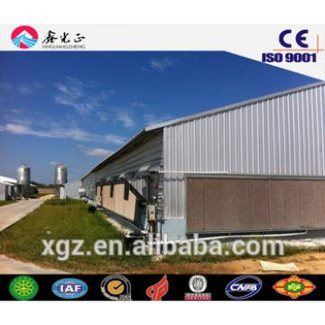 chicken house design/Steel structure poultry house including farm equipments