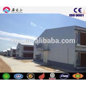 chicken farm building/Steel structure poultry farm, chicken house(JW-16108)
