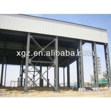 XGZ prefab high quality light steel structural metal roof warehouse
