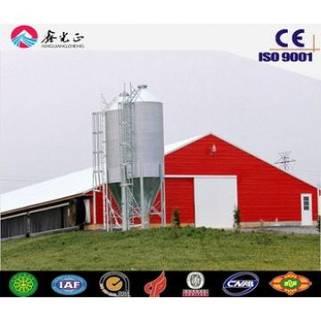 Q235 or Q345 construction design poultry farm chicken house commercial chicken house
