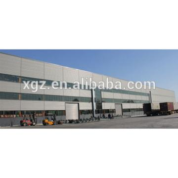 High Quality Light Steel Prefab Workshop Building