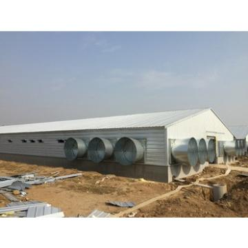 Mobile fireproofed prefabricated panel steel structure poultry prefabricated houses