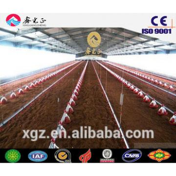 steel structure used poultry house/Steel structure poultry farm, chicken house(JW-16098)