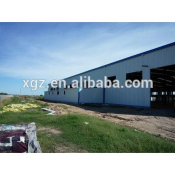 Steel structure Low cost High level warehouse