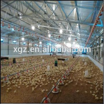 Golden supplier for low cost prefab steel chicken house