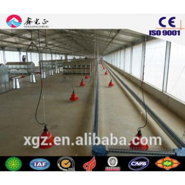 steel structure chicken farm supplier/Steel structure poultry farm, chicken house(JW-16095)